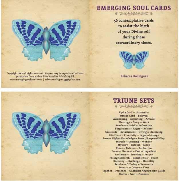 56 Contemplative Cards to assist the birth of your Divine Self